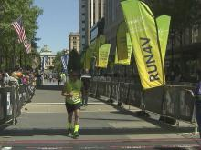 Marathoners cross Rock 'n' Roll finish line