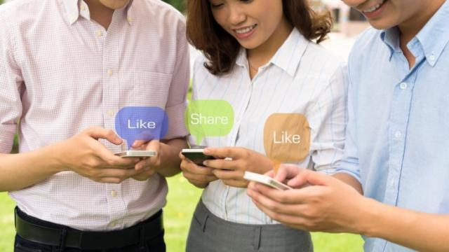 "A recent Canadian study found a correlation between social media use and what's known as ""the shallowing hypothesis"" -- that, as social media use has increased, Americans have become more superficial. (Deseret Photo)"