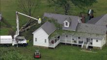 Sky 5 surveys storm damage