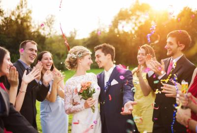 A wedding guest in the U.K. was mortified when she received an email from the bride and groom chastising her for not gifting them enough money, and requesting she supplement her original check with another one. (Deseret Photo)