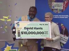 Lottery winner speaks