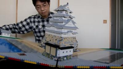 A Japanese man created a working pop-up book made out of Legos. You'll have to see it to believe it. (Deseret Photo)