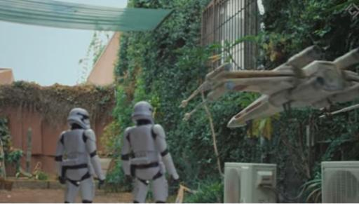 """The latest mashup pulled off by CorridorDigital on YouTube merges two worlds that go together perfectly: """"Star Wars"""" and drones. (Deseret Photo)"""