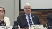 UNC Board of Governors Chairman Louis Bissette