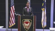 Cerelyn Davis sworn in as Durham police chief