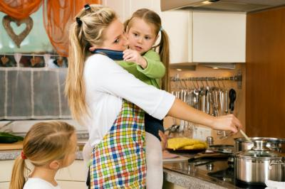 What exactly does it mean to be a stay-at-home mom in 2016? A new survey set out to find the answer and revealed that moms of today bring multitasking to new heights. (Deseret Photo)