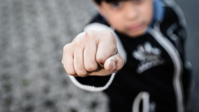 When you talk to your children about responding to bullies, the best advice you can give them is put up their fists and fight back. (Deseret Photo)