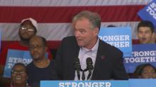 Democratic VP nominee Kaine talks jobs plan in Greensboro