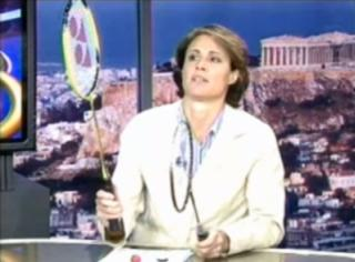 NBC's Mary Carillo's tongue-in-cheek rant about badminton during the 2004 Athens Olympics resurfaces, and the internet rejoices. (Deseret Photo)