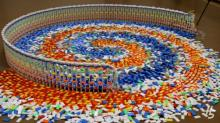 IMAGE: Have You Seen This? 15K domino chain reaction