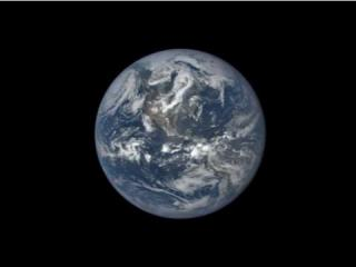 The video depicts a 1-year timelapse of the earth captured by NASA's EPIC camera on the National Oceanic and Atmospheric Administration's DSCOVR satellite. The camera took one picture every two hours beginning in August 2015. (Deseret Photo)