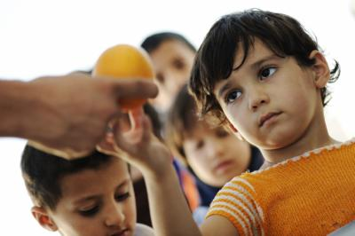 """A new report by UNICEF found that 50 million children around the world have migrated or been forcibly displaced from their home country, and of those children, 28 million left because of """"violence and insecurity."""" (Deseret Photo)"""