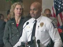 Charlotte police chief discusses police shooting, riots