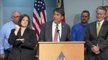 McCrory discusses, Charlotte shooting, flooding, gas shortage