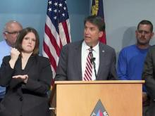 McCrory discusses Charlotte shooting