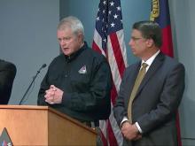 McCrory discusses Hurricane Matthew preparations