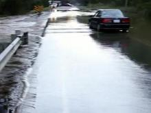 Flooding in northern Johnston County