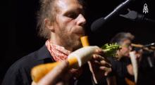 IMAGE: Have You Seen This? Vienna orchestra plays vegetables