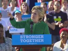 WRAL is live with Hillary Clinton in Raleigh as she tackles early voting, gun violence