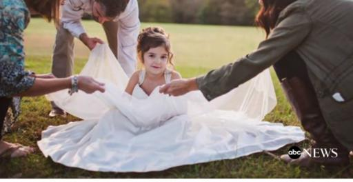 A mother often dreams of seeing her daughter in her wedding dress, and when one North Carolina woman realized she wouldn't live to see that day, she took matters into her hands. (Deseret Photo)