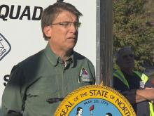Gov. McCrory provides update on NC wildfires
