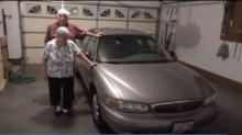IMAGES: Kind repo man surprises elderly couple by paying off their car
