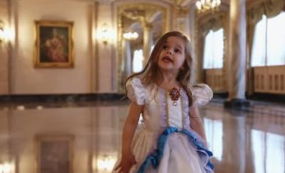 "Four-year-old Claire Ryann Crosby has enchanted us several times before, and this time she's back in honor of the upcoming ""Beauty and the Beast"" movie. (Deseret Photo)"