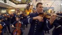 IMAGE: Have You Seen This? Air Force Band surprises veterans with holiday flash mob