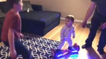 IMAGE: Have You Seen This? Baby adorably dances on hoverboard