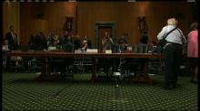 Senators consider treasury secretary nominee in confirmation hearing