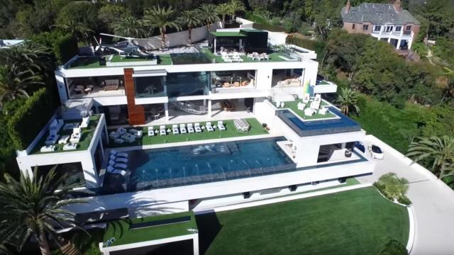 "Touted on its website as the ""most beautiful home on the planet,"" a new real estate video posted to YouTube is taking you inside a California home worth a quarter of a billion dollars. (Deseret Photo)"