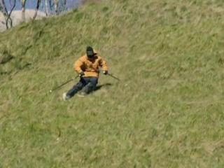 French skier, Candide Thovex, posted a behind-the-scenes video featuring skiing without snow that will knock your socks off. (Deseret Photo)