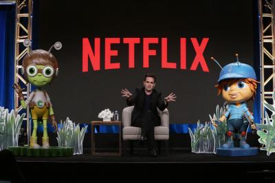 "Executive Producer/CreatorJosh Wakely speaks on panel for ""Beat Bugs"" at Netflix 2016 Summer TCA on July 27, 2016 in Los Angeles. Social media is often been blamed for insulating society into idea ""echo chambers."" But there's an elephant in the echo chamber: Netflix. (Deseret Photo)"