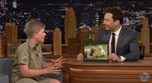 IMAGE: Have You Seen This? Steve Irwin's son is chip off the old block