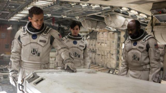 "Matthew McConaughey, Anne Hathaway and David Gyasi star in ""Interstellar."" Since its founding in 2008, the Science and Entertainment Exchange, an organized network of scientists, has consulted on about 1,800 films to make the science depicted more credible. (Deseret Photo)"