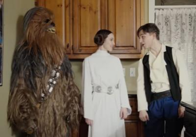 """Utah YouTubers made a joyful tribute to Carrie Fisher and her mother Debbie Reynolds in a delightful mashup of Star Wars and """"Singin' in the Rain."""" (Deseret Photo)"""
