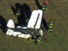 Sky 5: Small plane down in Apex airfield