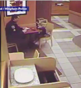Police officers put their lives on the line every day to keep us safe, so they deserve to have someone to talk to when they sit down for a dinner break. At least, according to a 4-year-old Massachusetts girl. (Deseret Photo)
