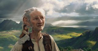 Mark Rylance and Ruby Barnhill in The BFG (2016) (Deseret Photo)