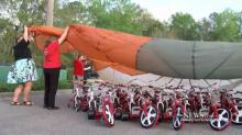 IMAGE: Teacher raises $80K to provide bikes for all 650 students at underprivileged school