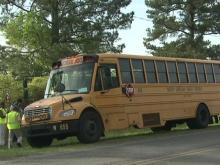 Wake schools bus involved in crash