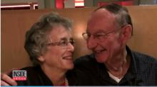 IMAGE: High school sweethearts reconnect, marry after 64 years