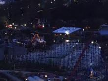 Authorities work to rescue 24 riders stuck on roller coaster