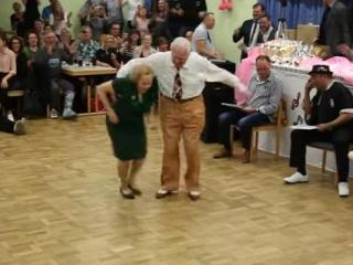 If you think a dance tournament for the elderly sounds boring, this couple will prove you wrong. (Deseret Photo)