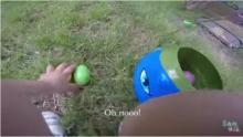 IMAGE: Have You Seen This? Tot's joyful GoPro egg hunt