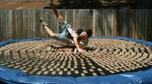 IMAGE: Have You Seen This? 1,000 mousetraps on a trampoline