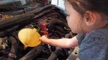 IMAGE: Have You Seen This? Cutest oil change ever
