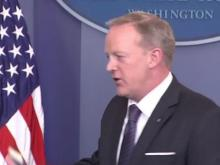 Sean Spicer holds first press briefing since White House staff shakeup