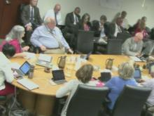 WCPSS board work session