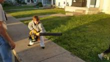 IMAGE: Have You Seen This? Kid experiences true power for 1st time